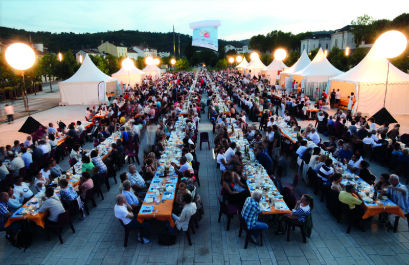 Lot of Saveurs festival in Cahors is the highlight of the region's gourmet calendar.