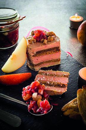 Gorge on foie gras (or not!) at Midi à l'Ombre in Uzès.