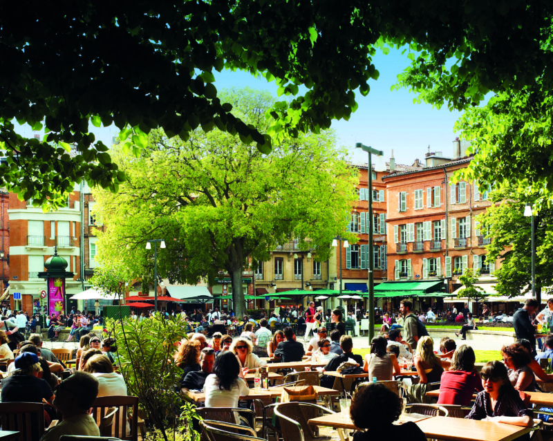 Place Saint-Georges in Toulouse.