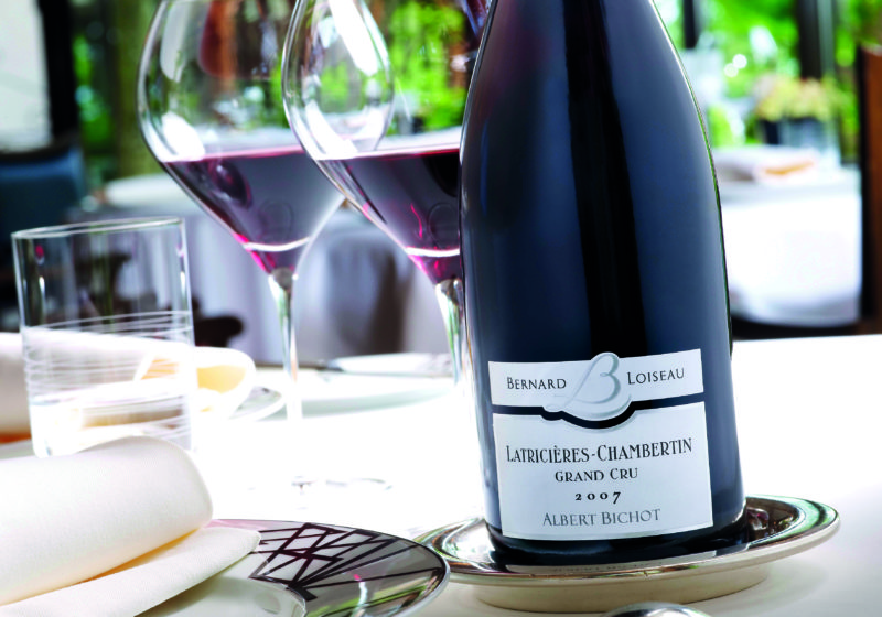 The deep ruby wines of Gevrey-Chambertin are iconic.