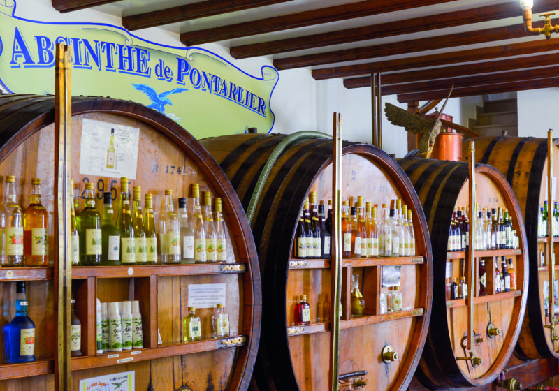 Pontarlier's Distillerie Armand Guy is one of the stops on the Absinthe Trail.