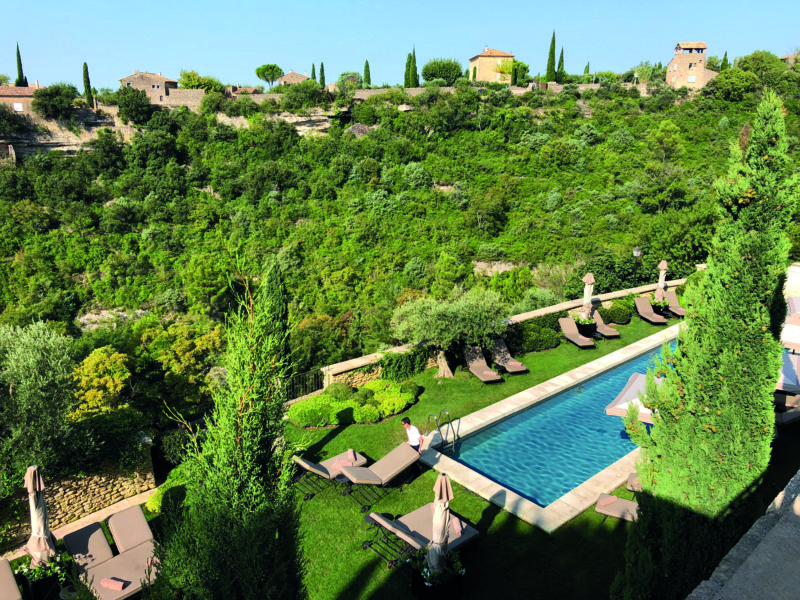 A favourite with jet setters, the Bastide de Gordes hotel boasts two of the finest, most indulgent restaurants in Provence.