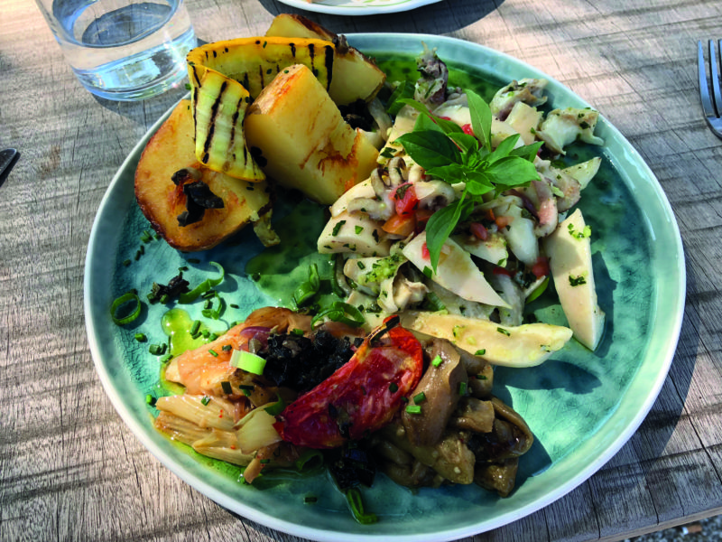 Chez Tata Simone's delicious locally-sourced dishes in Saint-Rémy-de-Provence hearken back to the hearty home-cooked fare of old Provence.