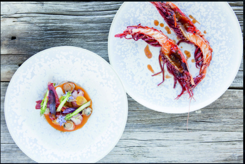 In La Rochelle, Christopher Coutanceau is the 'Chef-Fisherman'.