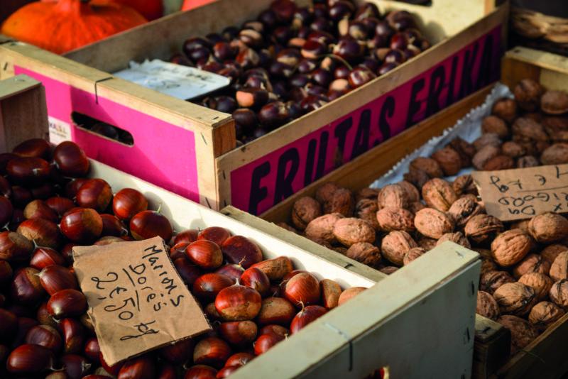 Périgord's sweet chestnuts are an autumn treat.