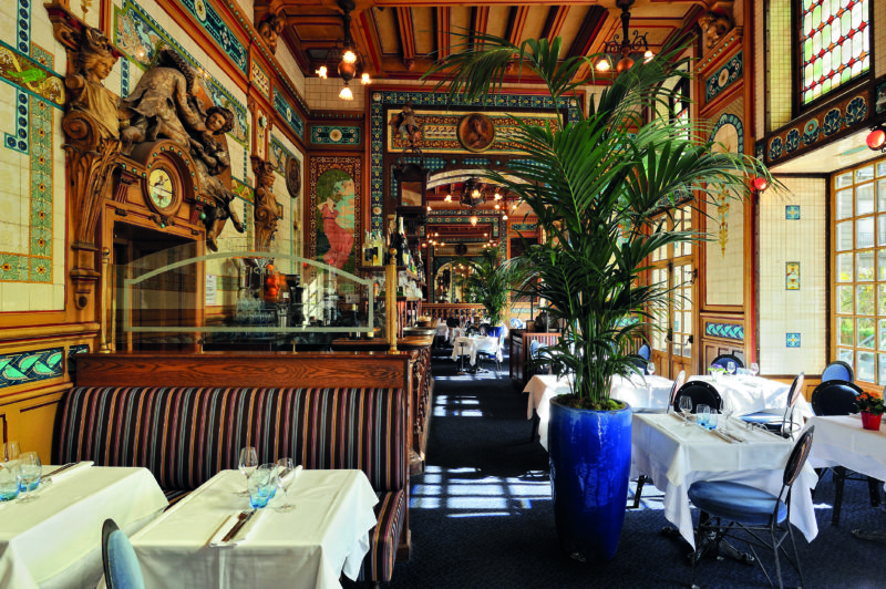 La Cigale is an institution in Nantes 9and a favourite with tourists).