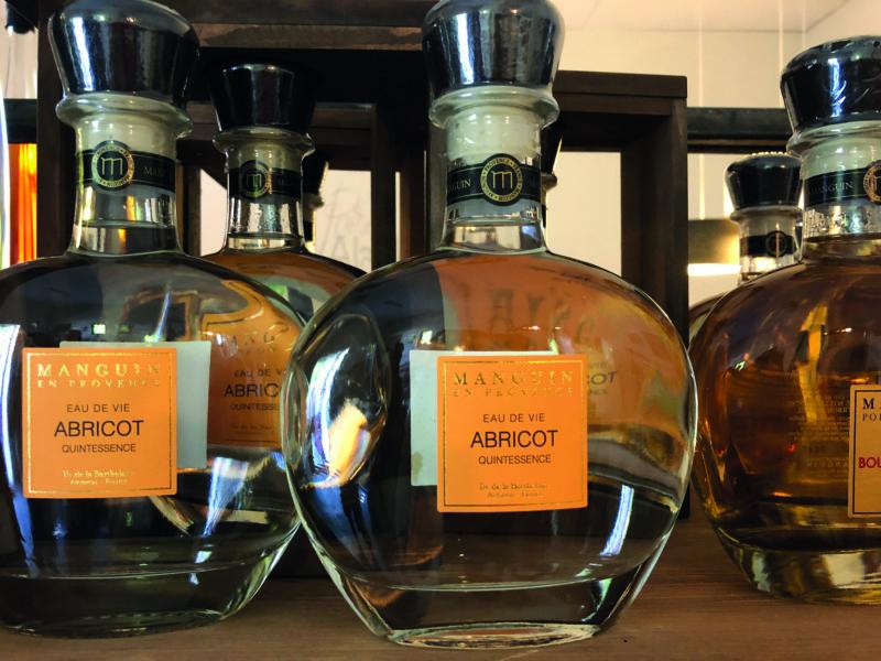 Distillerie Manguin has been producing eau de vie since 1940.