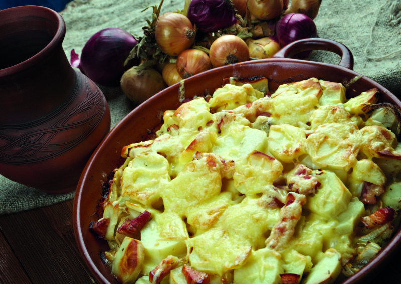 Savoie's cheese-laden tartiflette is just the ticket to warm those cockles.
