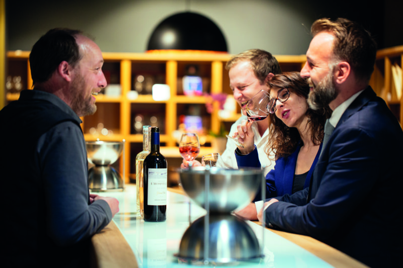 Treat yourself to a wine dégustation (tasting) at Château l'Hospitalet.