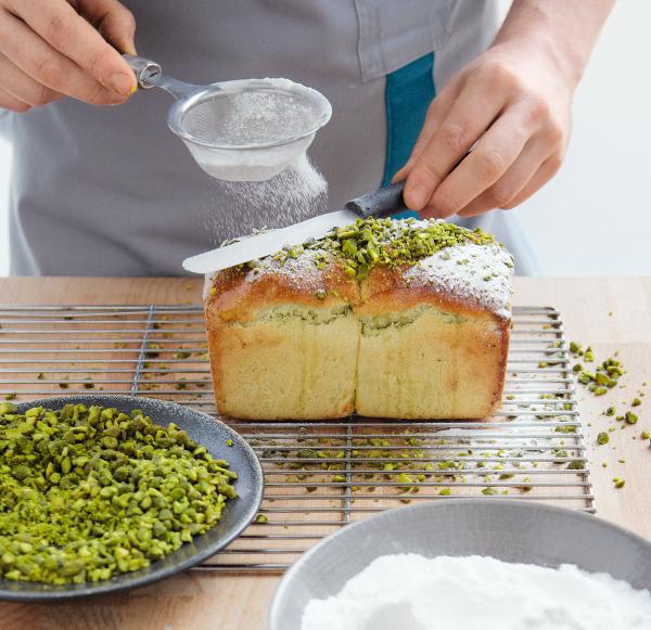 Éric Kayser's pistachio loaf