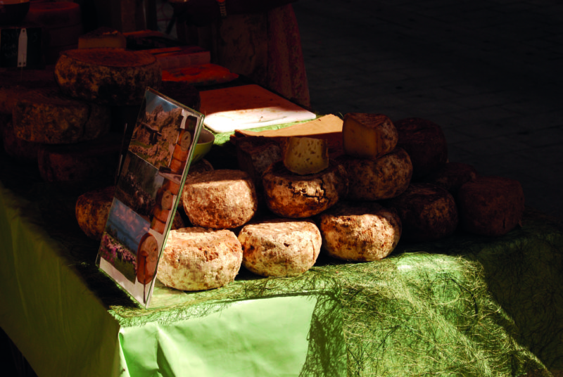 Cheese is an integral part of island life.