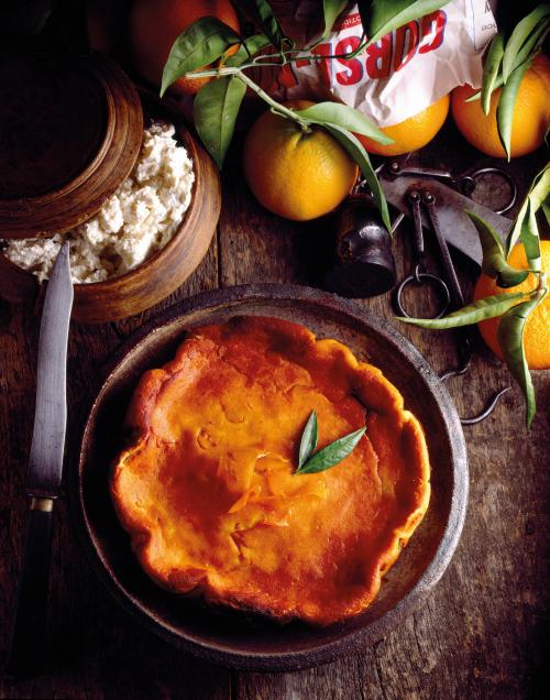 Brocciu is used to make fiadone cheesecake.
