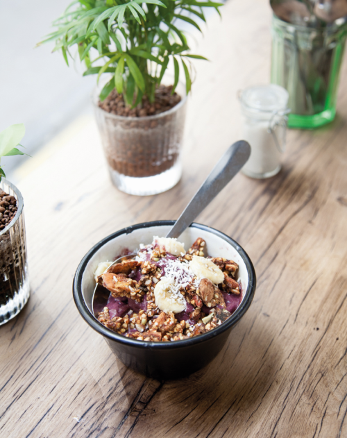 Wholesome and Insta-ready, Wild & The Moon's açaí bowl is the breakfast of hip Millennials.