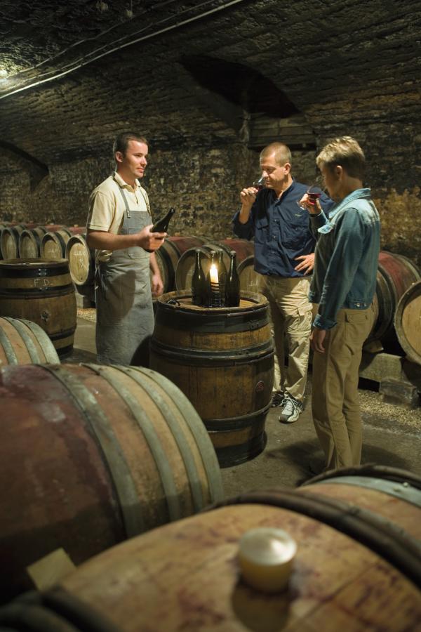 Indulge in one of the region's many wine tastings.