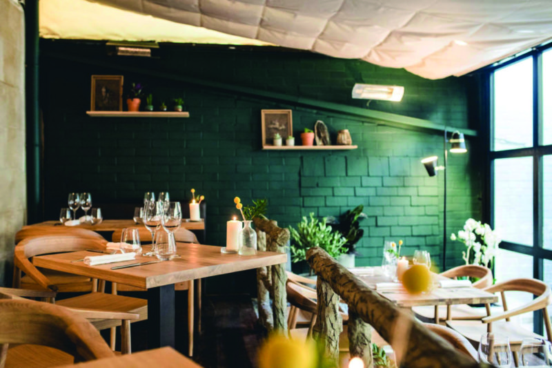 Pollen in Avignon has received plaudits for its seasonal bistro fare.