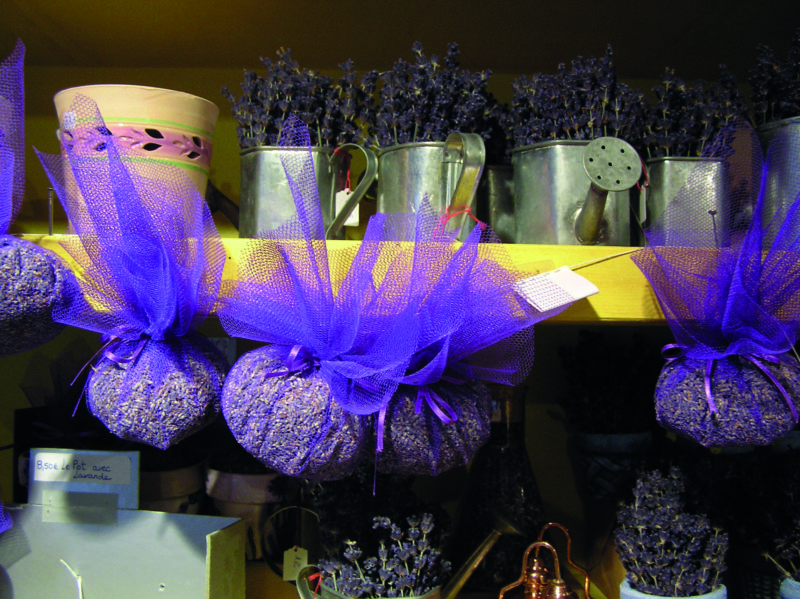 While lavender is more commonly found bedecking window sills or freshening up wardrobes, it makes an appearance in many local dishes and pastries too.