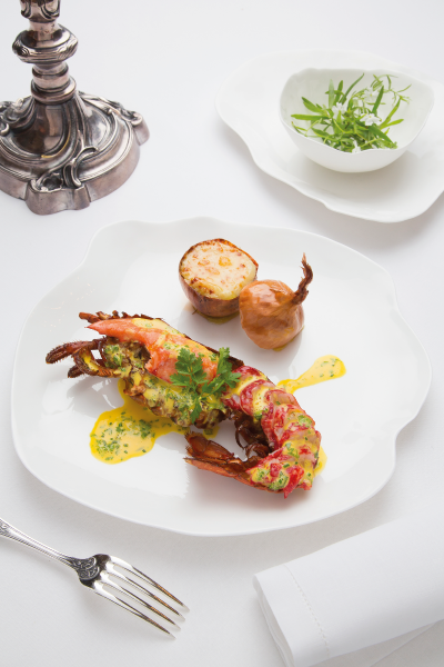 The very finest dining at Michel Guérard's Les Prés d'Eugénie.