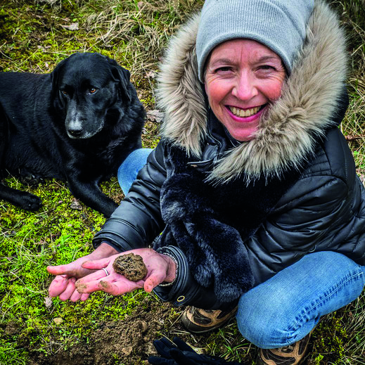 Finding your own truffles makes eating them even better.