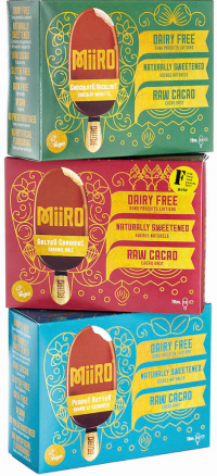MIIRO dairy free dessert options