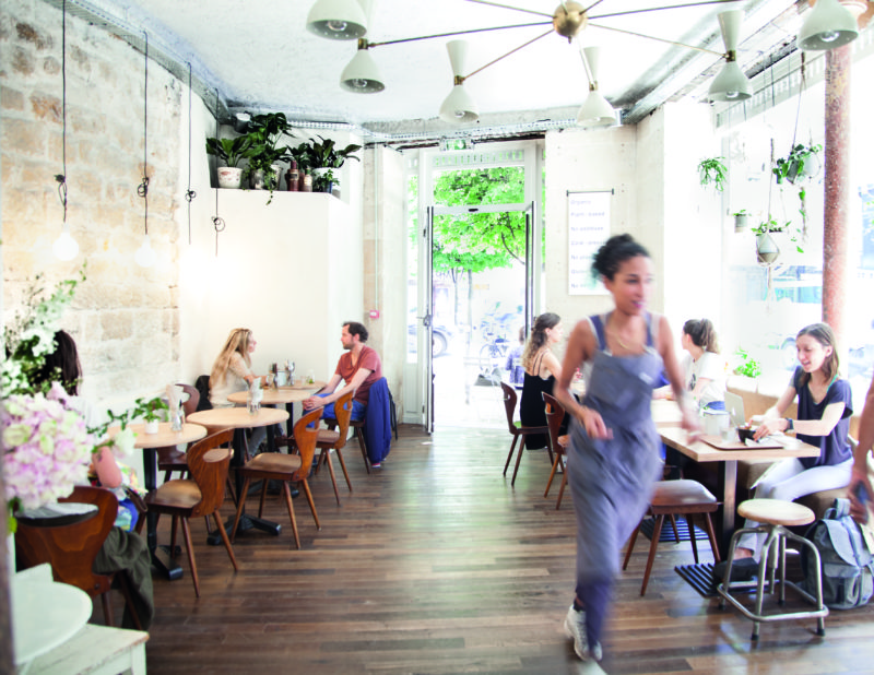 Wild & The Moon's outpost in the 11th arrondissement is a clean-eating temple.