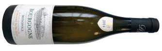 A bottle of domaine borgeot clos de la carbonade monopole  2014 from Burgundy