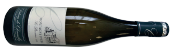 A bottle of château de chamilly montagny 1er cru les burnins 2014 from Burgundy
