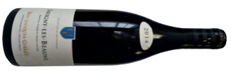 A bottle of domaine jean-jacques girard, savigny-les-beaune  2014 from Burgundy
