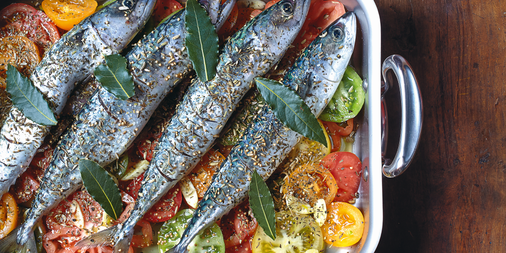 Stéphane Reynaud's mackeral with tomatoes
