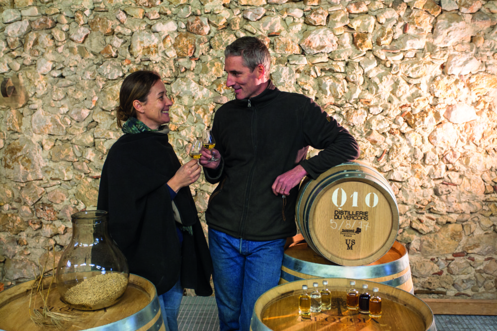 Éric Cordelle and his wife Anne-Hélène are part of the new crop of whisky distillers blazing a trail in France.