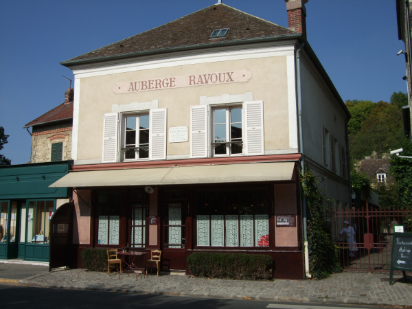 exterior shot of The Auberge Ravoux