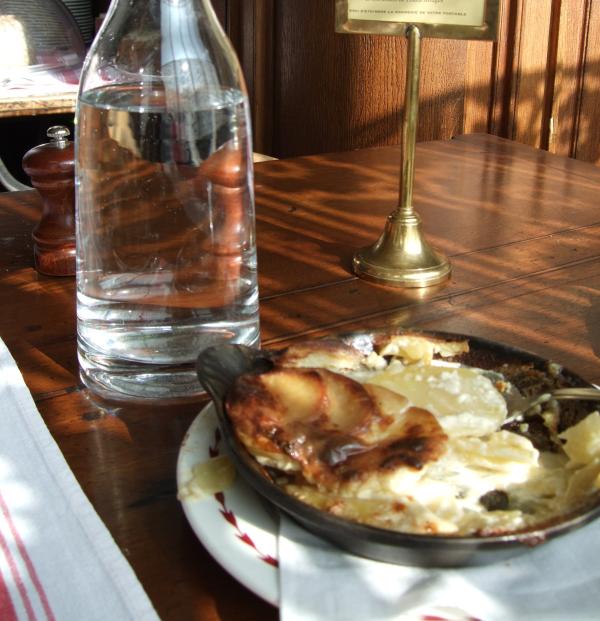 gratin dauphinois at The Auberge Ravoux