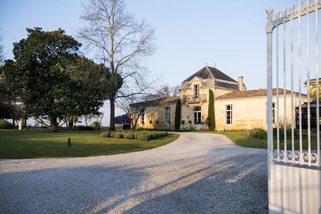 Exterior shot of château cordeillan-bages