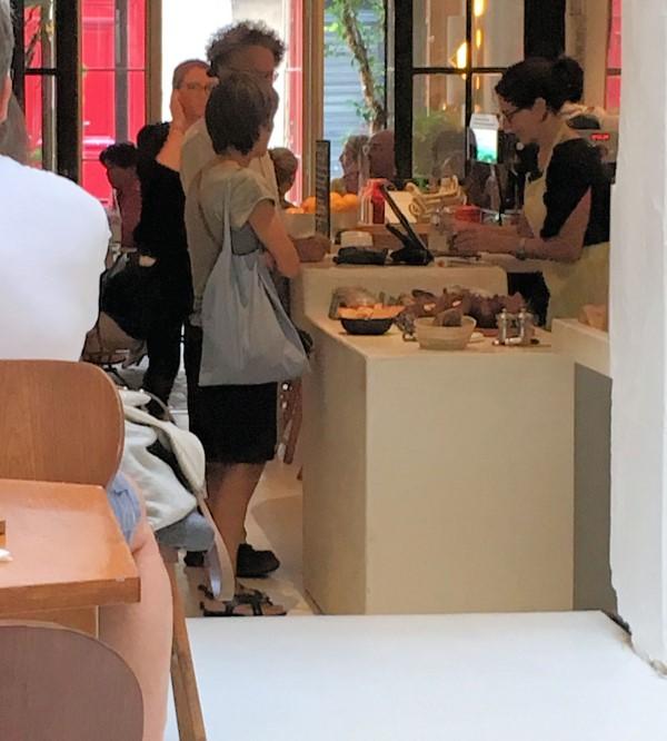 customers at cafe ineko