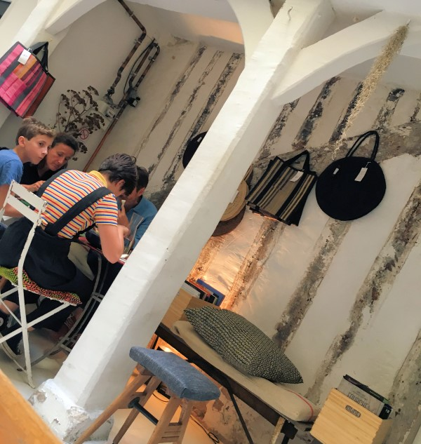 inside the humble cafe ineko