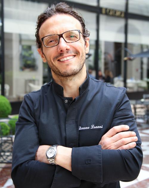 Chef Simone Zanoni