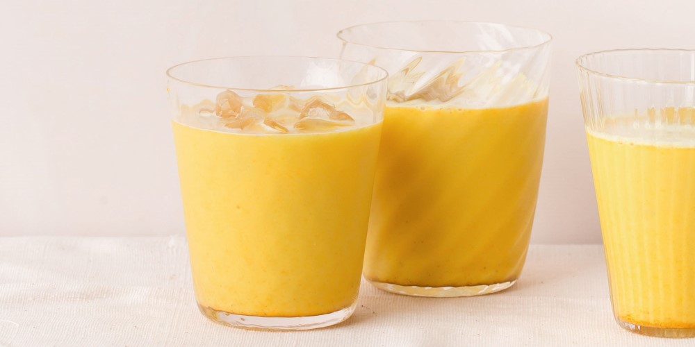 Trish Deseine Latte glacé with turmeric and spices