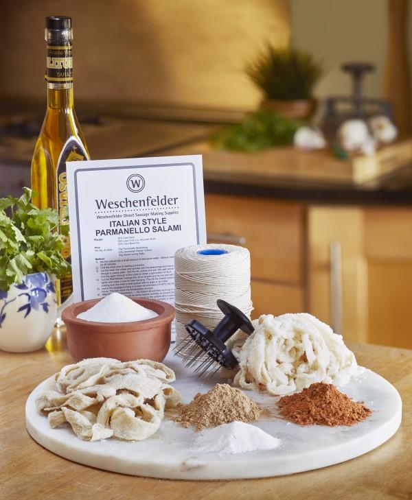 famous Weschenfelder Complete Chorizo and Salami Kit