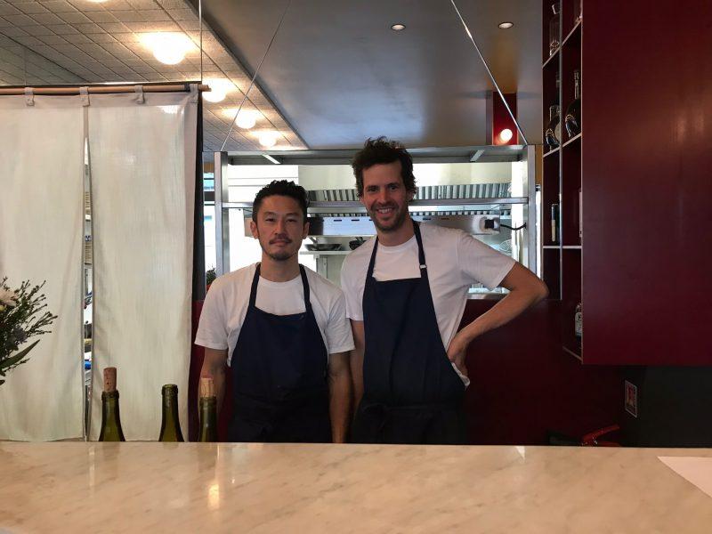 Cuisine staff members