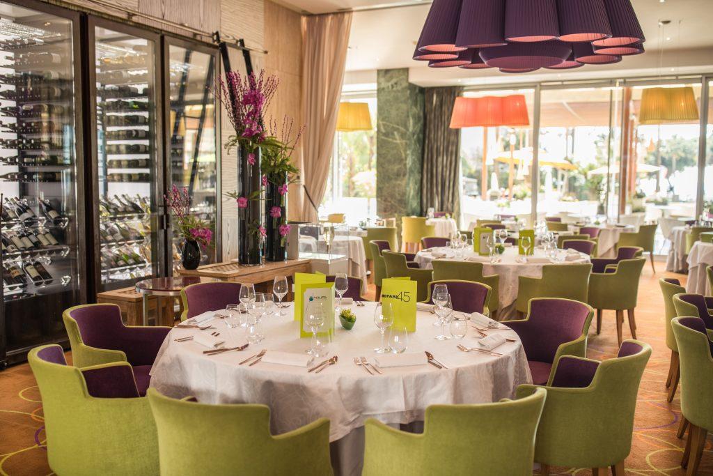 Inside dining at park 45