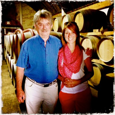 Uncle Jean-Claude, 80, still makes wine and my dear cousin, Audrey, is now in charge