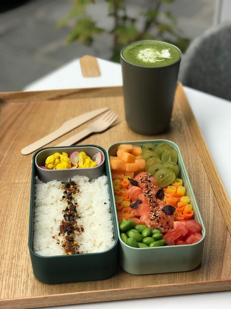 Vegeterian options for the bento boxes