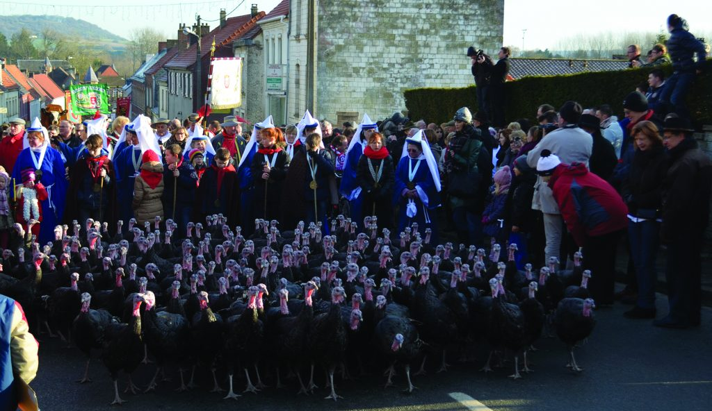 Turkey festival in Licques