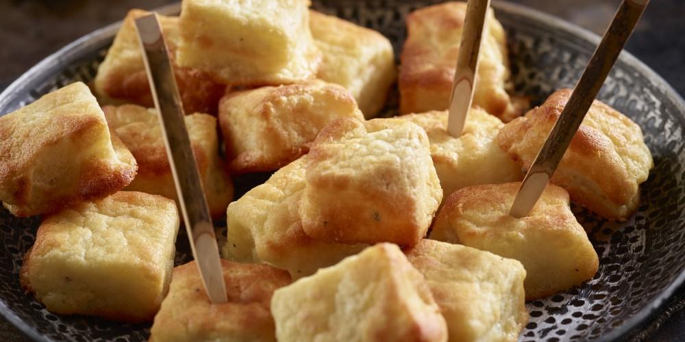 Comté fondue bites – the perfect festive canapé