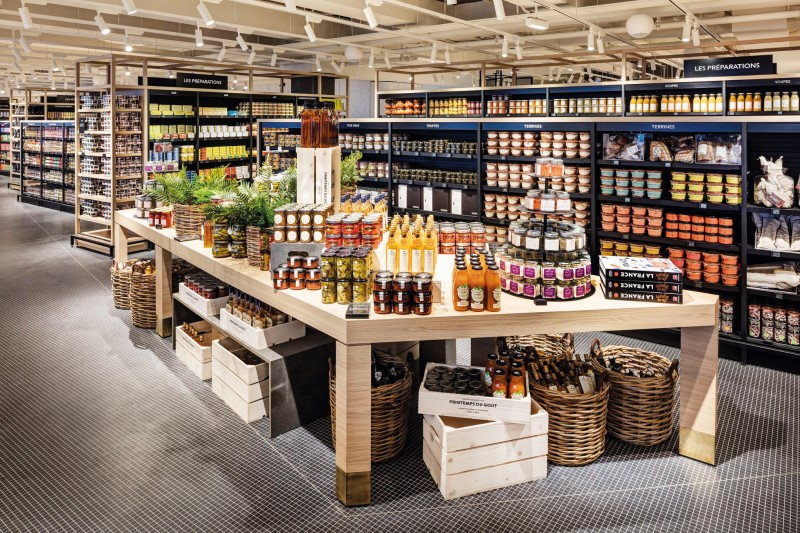 Paris's newest gourmet address, on the seventh and eighth floors of the Printemps department store