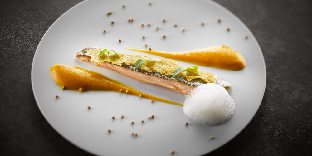 Trout with an Abondance tuile