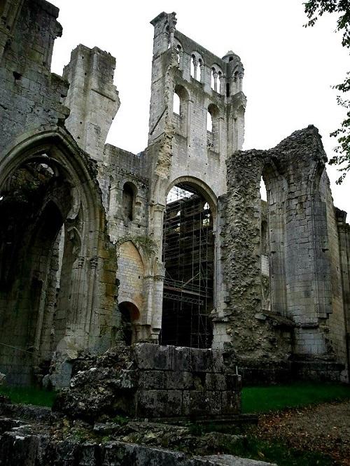 The Abbaye de Jumièges