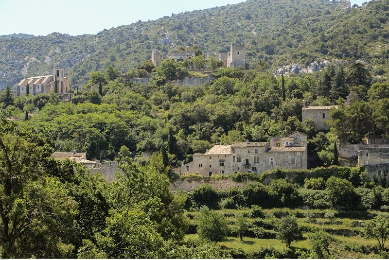 The village of Oppède