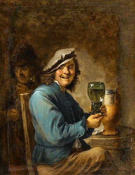 The merry drinker