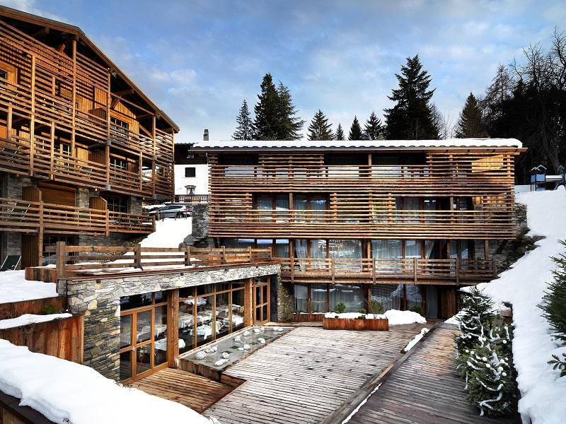 Five-star M de Megève hotel