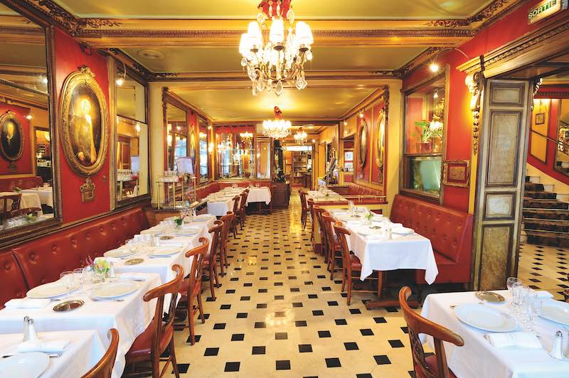 Le Procope cafe in Paris